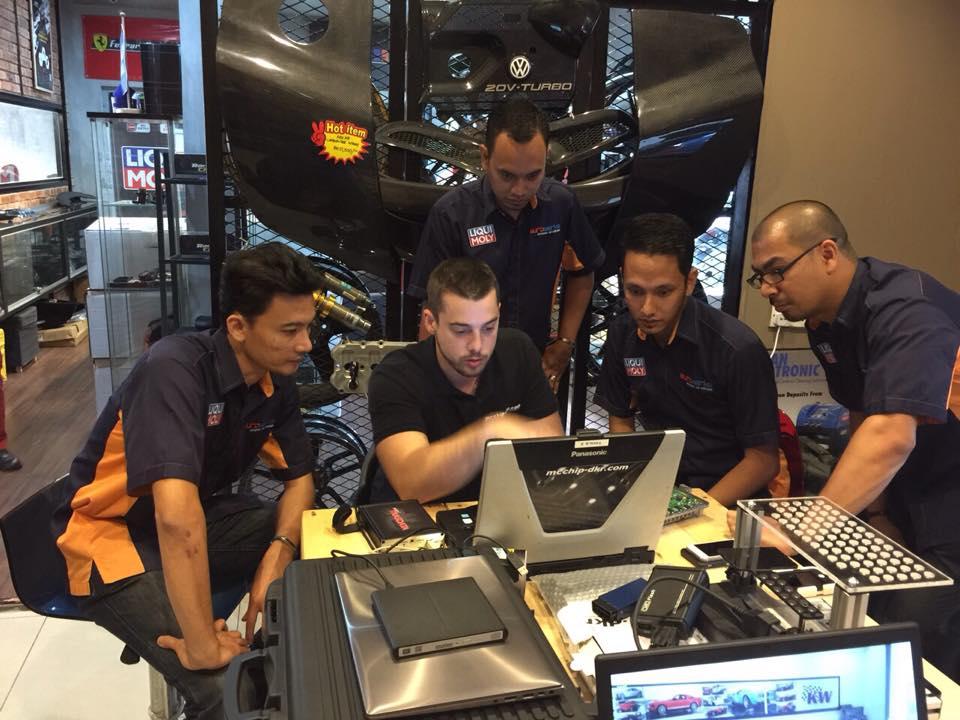 Mcchip-DKR SoftwarePerformance training with Eurowerks team